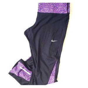 Nike Athletic Workout Running Leggings Size M